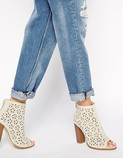 ASOS perforated boot